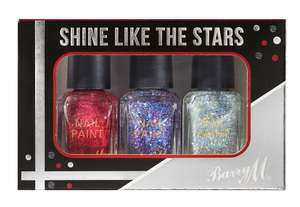 Barry M All That Glitters Nail Varnish Set - £4.00 - Free C+C Orders Over £30/£3.95 Delivery - House of Fraser