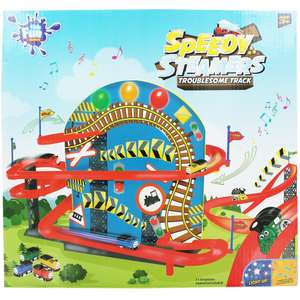 Speedy Steamers Troublesome Track  (watch the video) now £8 C+C w/code @ The Works (code takes 20% Off wys £10)