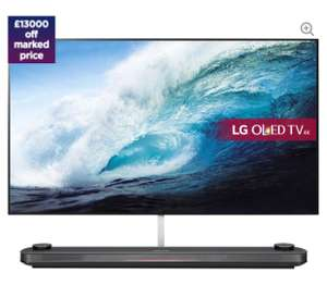 "LG OLED77W7V 77"" Smart 4K Ultra HD HDR OLED TV - £11,999 @ Currys"