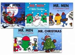 Mr Men Collection 5 Books Set Christmas Gift Pack - £4.68 - Delivery £2.99 /Free Over £30 @ Lowplex
