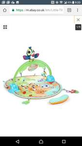 Little tikes good vibrations deluxe baby gym £19.99 Argos on eBay