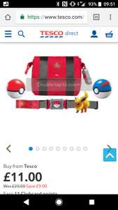 Pokemon trainer kit £11 at Tesco