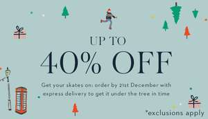 Boden up to 40% off + additional 20% off with code NNG7 + free delivery & returns