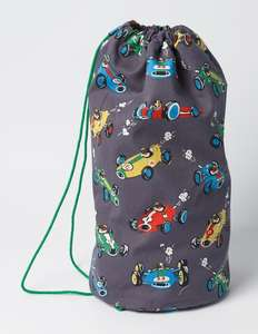 Boys car design drawstring bag £7 delivered with code NNG7 @ Boden
