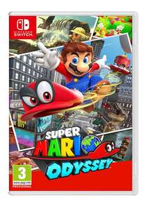 Super Mario Odyssey // Mario Kart Deluxe 8 [Switch] £39.99 each @ SimplyGames
