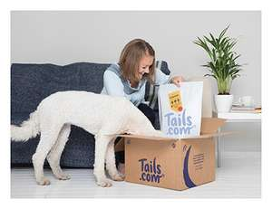 Free Trial tailor made Dog Food @ Tails - £1 delivery