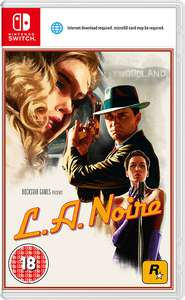 LA Noire Nintendo Switch £26 delivered @ Tesco Direct