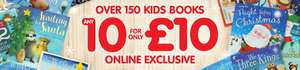The works 10 kids books for £10 - Online only. £2.99 delivery or Free C &C