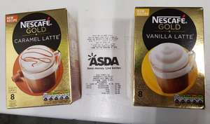 Nescafe Gold Flavoured Lattes @ Asda £1.50
