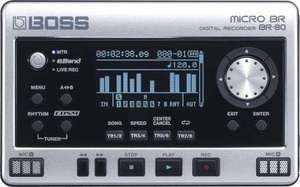 BOSS BR80 Micro BR - Portable digital recorder - £144 @ Reidys Music