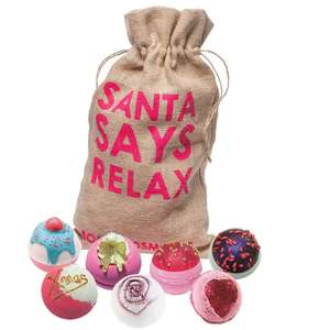 Bomb Cosmetics Santa Says Relax & Naughty Or Nice Gift Packs - £14.95 + Free Delivery @ Just My Look
