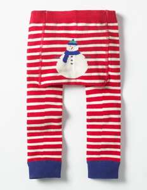 Kids' knitted snowman leggings £5.60 delivered @ Boden