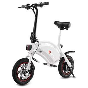 F - wheel DYU Electric Bike  -  WHITE - £195 @ Gearbest