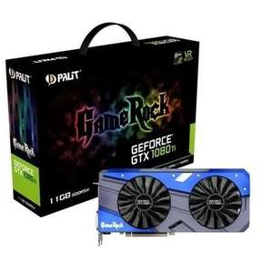 Palit GTX 1080 Ti GameRock Edition - £674.97 @ Laptops Direct