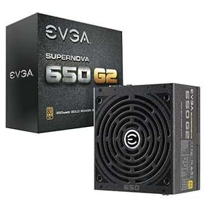 EVGA SuperNOVA 650W G2 PSU, 80+ GOLD, Fully Modular Power Supply, 7 Year Warranty @ Amazon - £84.51