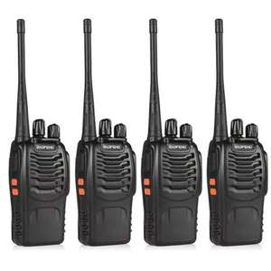 BaoFeng 4pcs BF-888S Walkie Talkie £36.88 delivered @ gearbest, cheapest price ever for a 4 pack - £36.88
