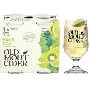 Old mout xmas gift box with 4x330ml and a glass @ morrisons - £4