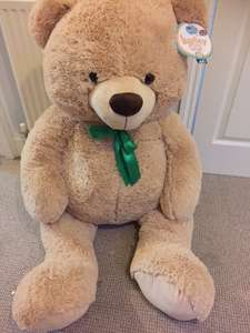 Wilko 1.2m Bailey the massive Bear - reduced now only £15