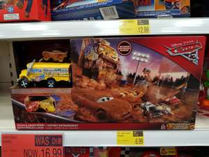 Cars 3 Smash & Crash Derby reduced £16.99 in store at B&M