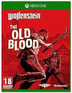 wolfenstein - The Old Blood,  New, X box one - £4.99 @ GAME