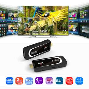 H96 PRO H3 Android 7.1 2GB 16GB Amlogic S905X 4K TV Dongle £27.78 Delivered with code @ Geekbuying