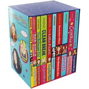 Jacqueline Wilson Collection (10 Books) - £11.25 collection / £14.24 delivered with code @ The Works