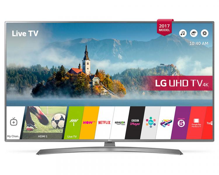 "LG 49UJ670V  49"" ULTRA HD 4K TV £489 at Crampton & Moore"