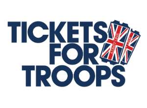 Free concerts tickets for members of the armed forces