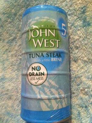 John West Tuna Steak 'No drain' 5x120g multipack £2 instore @ Lincoln Asda Wolsey Way