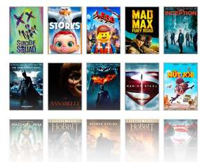 Get 5 Digital HD movies for £1 each at Rakuten TV - See OP for details