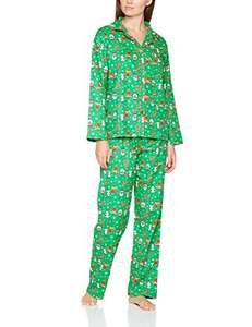 The Christmas Workshop Women's Christmas Theme Pyjama Sets - Just £10  (Prime) / £13.99 (non Prime) at Amazon