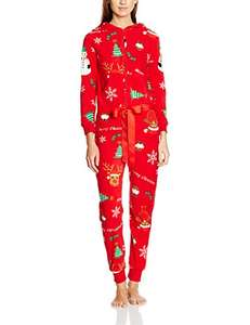 The Christmas Workshop Women's Christmas Onesies - Just £12.50  (+£3.99 non prime) from Amazon!