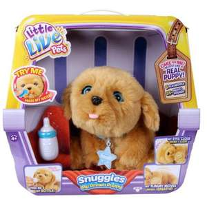 Little live pets snuggle puppy instore at Tesco for £41