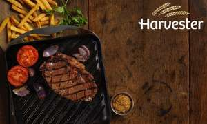 edit 19/12 - New Code - Steak, Ribs or Chicken Meal with Choice of Drinks + Unlimited Salad for TWO People at Harvester £18 with code via Groupon - Valid from 1st Jan - (code also works on Toby Carvery Offer - Carvery Meal with a drink for 2 People £