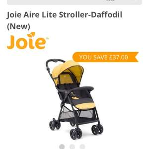 Joie Aire Lite at Kiddies Kingdom for £83