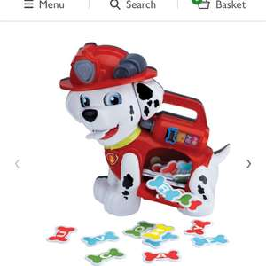 VTech Paw Patrol Treat Time Marshall - £18 @ Wilko