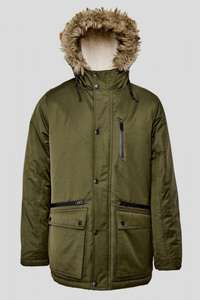 Mens Padded Parka Jacket Khaki £28 - Womens Fur Trim Parka £17.50 - Womens Trim Hooded Parka Coat £21  - use code ALL50 -  free delivery (see OP) @ Brand Attic