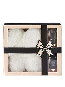 Indulgence Collection Gift Set - Slippers & Toiletries at Very for £6.99