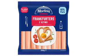 Morliny Frankfurters (350g) was £1.80 Now Only £1.00 @ Sainsbury's