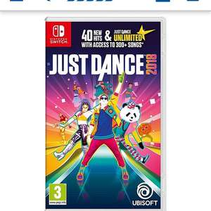 Just Dance 2018 Switch Game - £28 @ Tesco