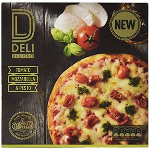 Goodfellas Deli di Lusso Calabrese, Salami & Chorizo Pizza (383g) / Deli di Lusso Chicken, Red Onion & Chilli Pizza (373g) / Deli di Lusso Tomato, Mozzarella & Pesto Pizza (362g)  was £2.50 now £1.50 @ Sainsbury's