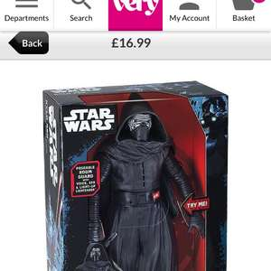 Kylo Ren interactive room guard from very