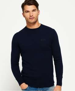 20% off knitwear at Superdry - discount applied at checkout
