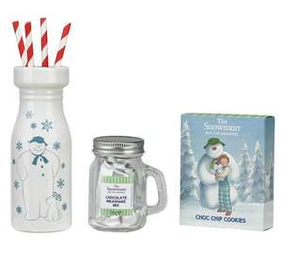 The Snowman Milkshake Drink With Cookies (Was £15.99) Now £7.99 w/code @ Argos