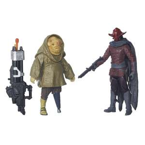 Star Wars: The Force Awakens 3.75 Inch 2 Pack Sidon Ithano and First Mate Quiggold - £6.80 instore @ Matalan