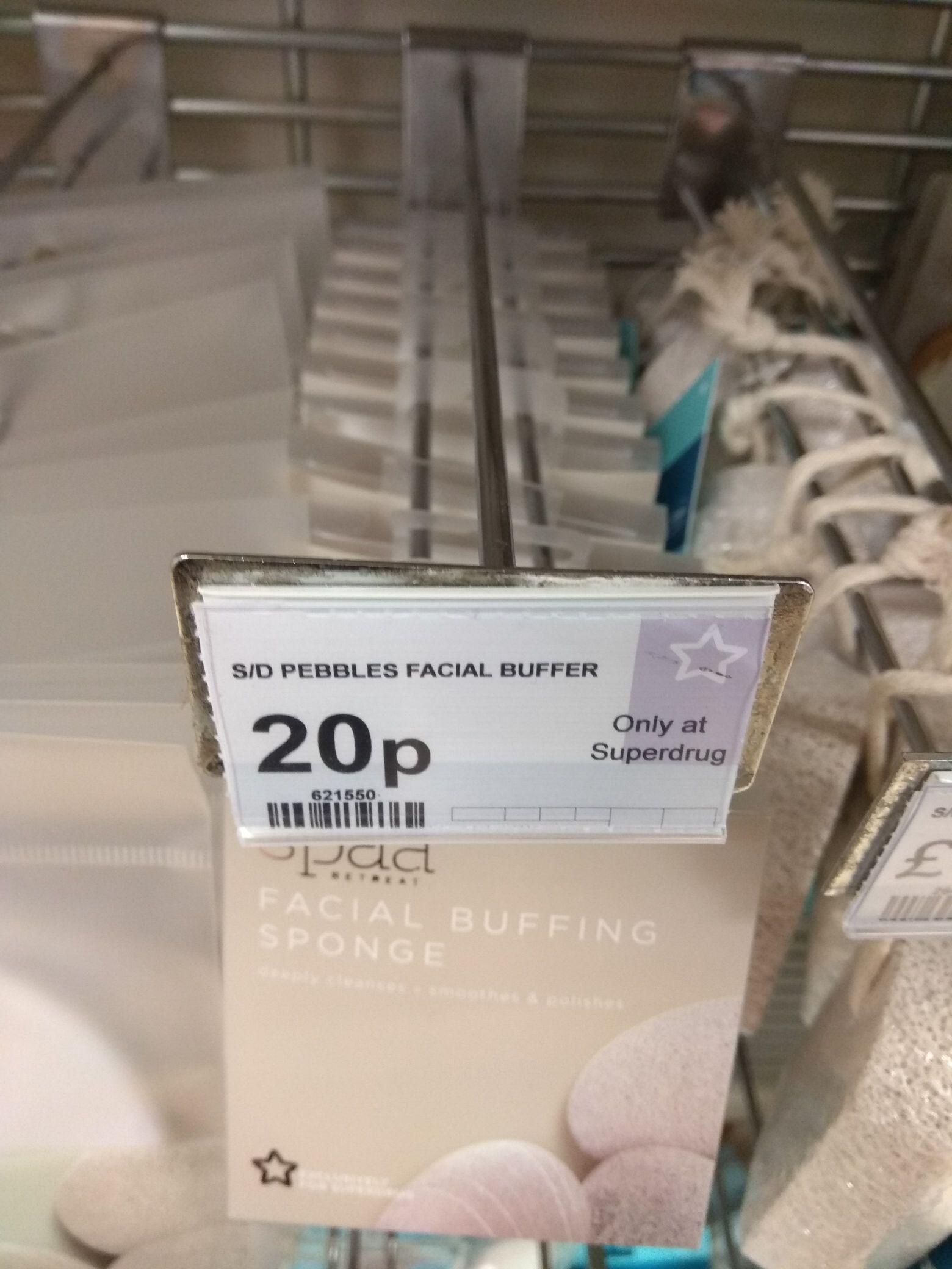Spaa facial buffing sponge RRP £1.99 - 20p @ Superdrug