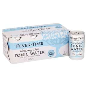 Fever tree Tonics (All kinds) £3.50 8 x 150ml tins Waitrose