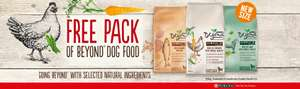 Free add on item  - Purina Beyond Dog Food 1.4kg (Choice of Chicken / Lamb / Salmon) @ Sainsbury's online