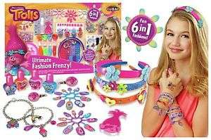Trolls 6 in 1 Ultimate fashion frenzy set £8.99 @ Argos Ebay