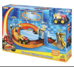 """Blaze and the monster machines """"Blaze to victory speedway playset"""" £12.99 Prime / 17.74 Non Prime @ Amazon"""